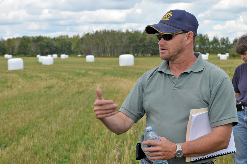 Clayton Robins is a fourth-generation producer from Rivers, who recently published a Nuffield Report on energy-dense forage.