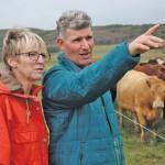 Ian and Linda Grossart run a nearly closed-system organic farm.
