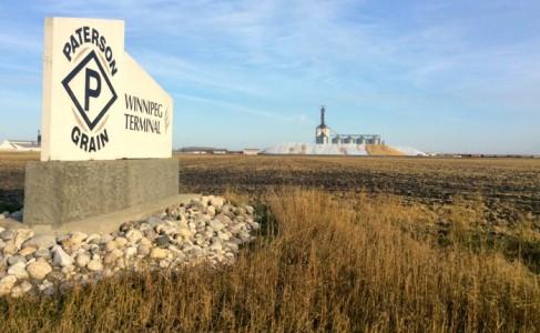 paterson grain terminal sign