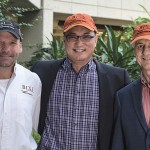 From left to right: Larry Thomas, Hubert Lau and Ted Power.