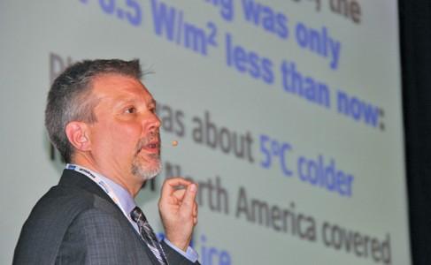 Manitoba climatologist Danny Blair