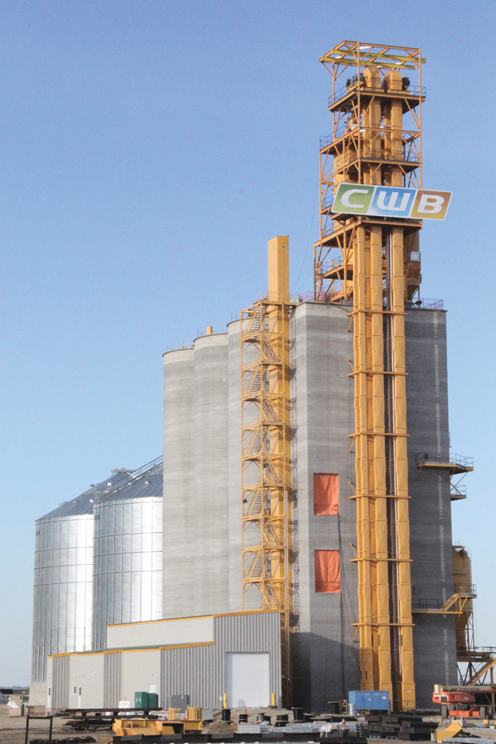 CWB grain elevator