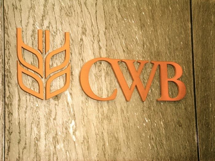 CWB sign