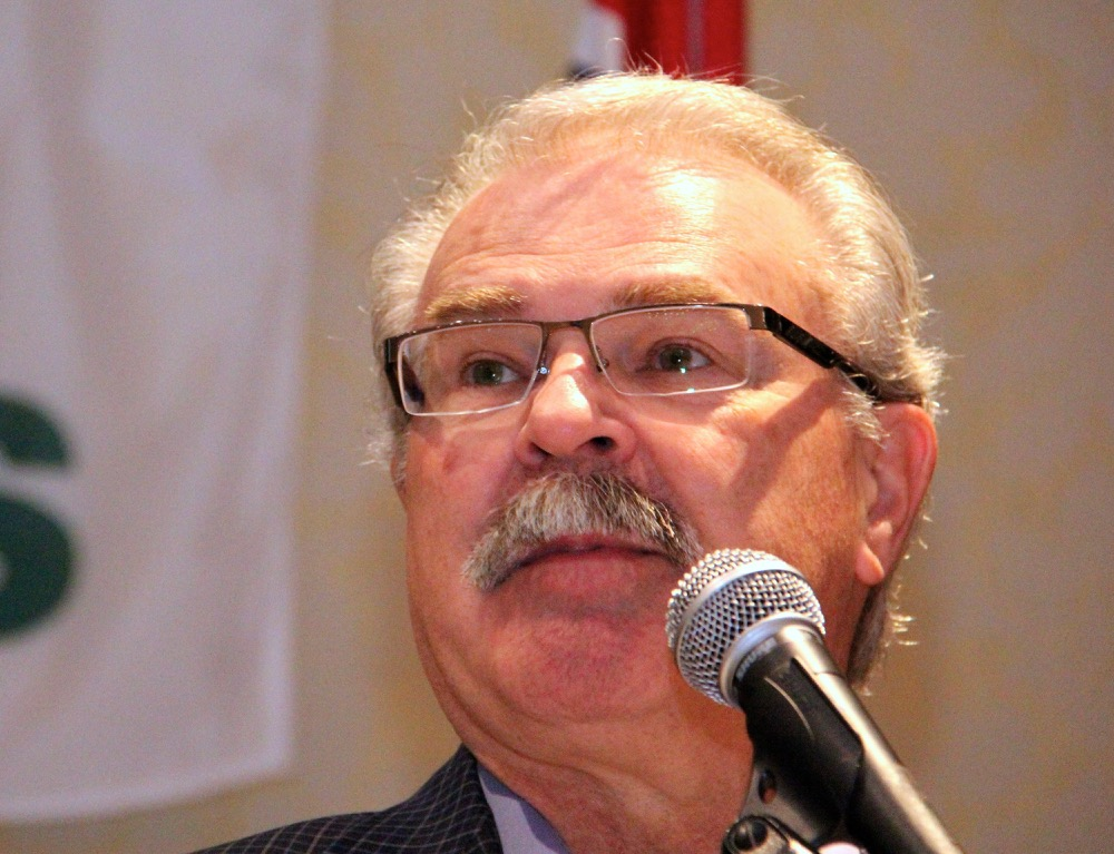 Canadian agricultural minister Gerry Ritz