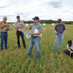 Clayton Robins opened his farm for a tour in mid-August to explain the benefits of his high-energy forage grazing system.