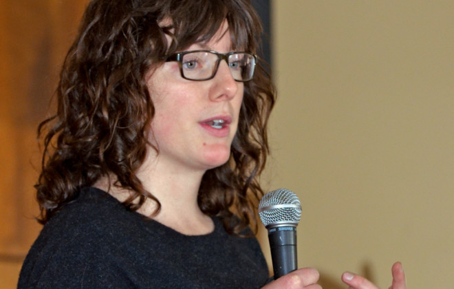 Kalynn Spain, founder of Small Farms Manitoba hosted the organization's second annual conference in Brandon on Saturday, January 23.