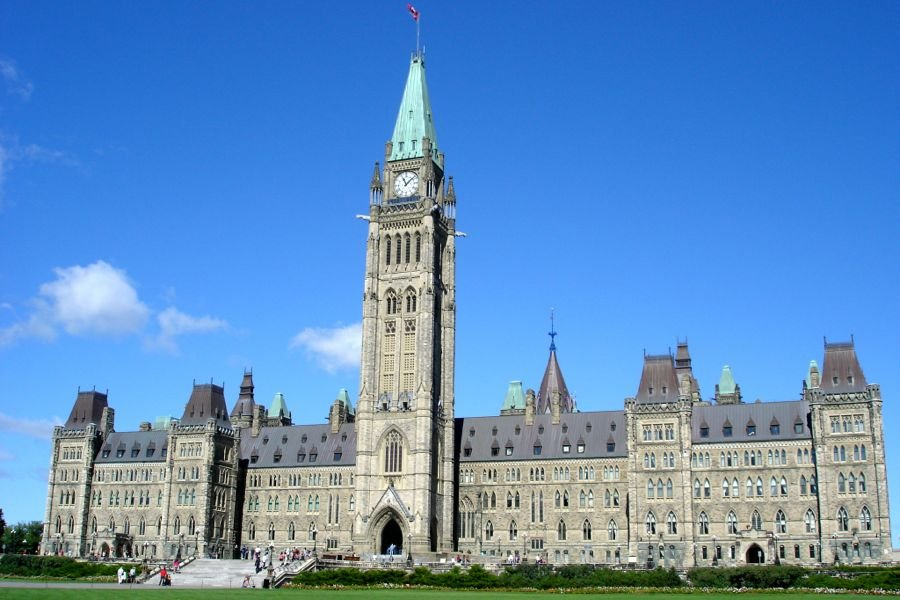 parliament hill in Canada