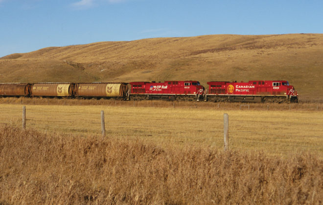 CP Rail says it's ready to move this year's expected bumper crop.