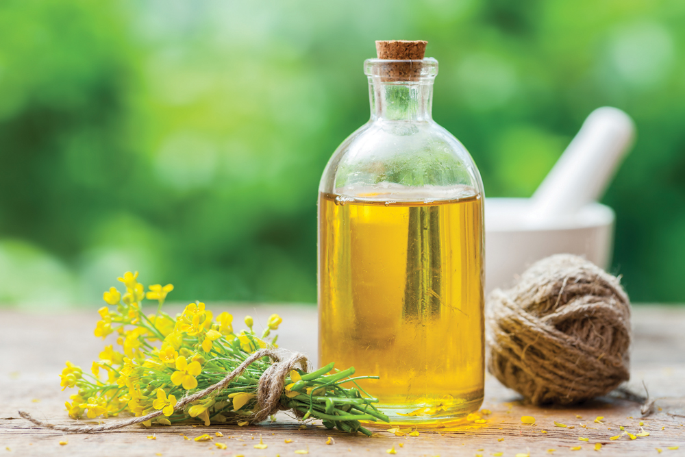 Canola oil is one of the better oil choices for any kitchen.