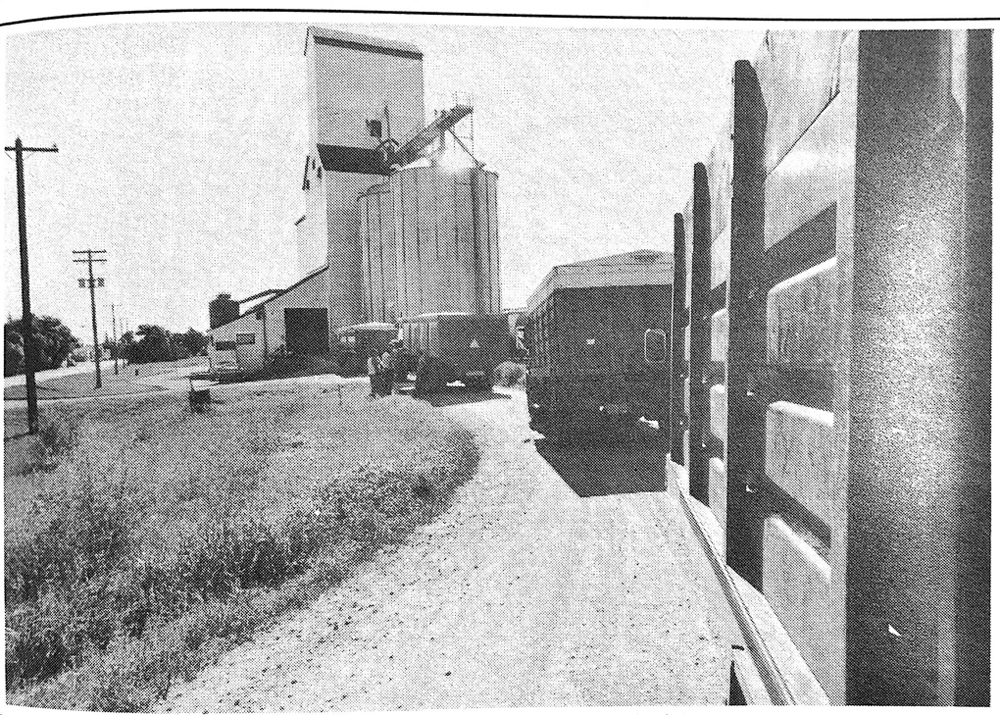 "Grain elevator lineup ""longest day of the year"""