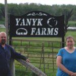 Stephen and Vicki Yanyk are third-generation farmers.