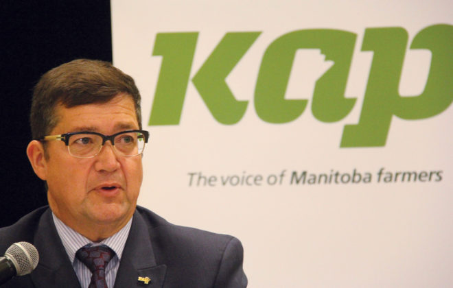"""KAP president Dan Mazier says the farm organization got much of what it wanted from the """"Made-in-Manitoba Climate and Green Plan,"""" including a carbon tax exemption on """"marked"""" farm fuel."""