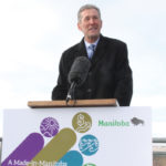 Purple fuel is exempt from Manitoba's $25-a-tonne carbon plan that starts next year, but the province hasn't decided if the exemption will apply to barn heating or grain dryer fuels. Premier Brian Pallister rolled out his Made-in-Manitoba Climate and Green Plan at Oak Hammock Marsh Oct. 27.