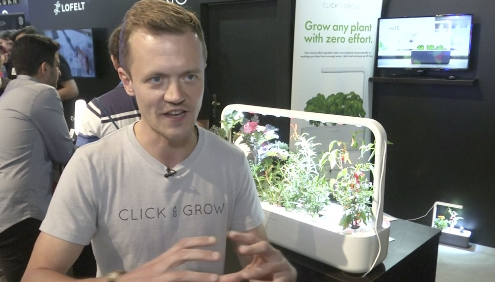 VIDEO: Smart garden makes urban farming easy