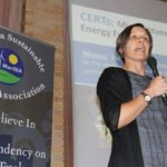 Melissa Pawlisch, director with the University of Minnesota's Clean Energy Resource Teams (CERTs) was a guest speaker at the Manitoba Sustainable Energy Association conference in Winnipeg earlier this month.