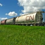 Th passage of Bill C-49 will see CN invest in new grain cars and other infrastructure to move grain faster across the Prairies.