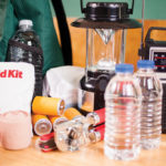 Have some supplies gathered ahead of time if you think you may be affected by flooding.