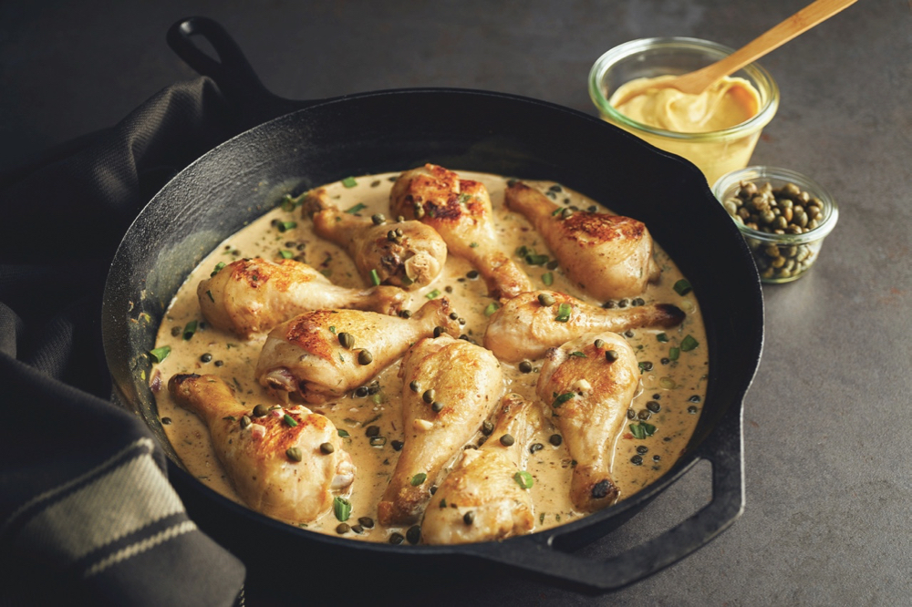Manitoba Flavours: One-Pan Chicken Dijon