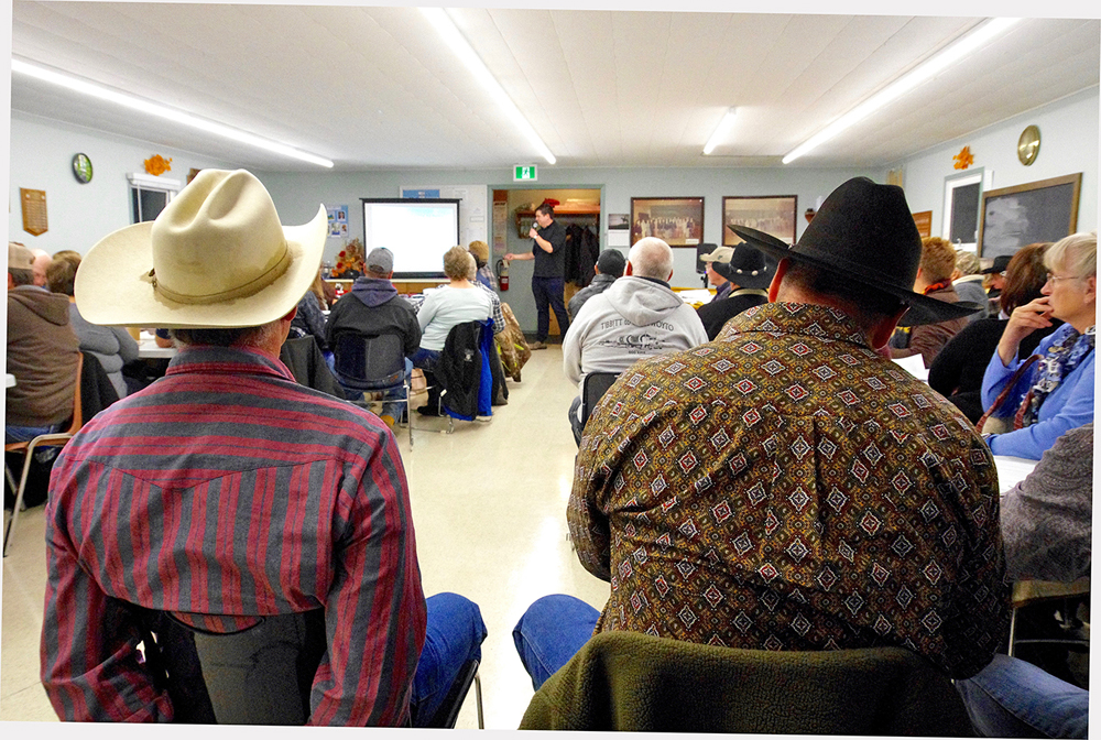 Crown lands dominate the discussion in early November as ranchers gather for the third time in just over a month in Ste. Rose du Lac, this time for a Manitoba Beef Producers district meeting.