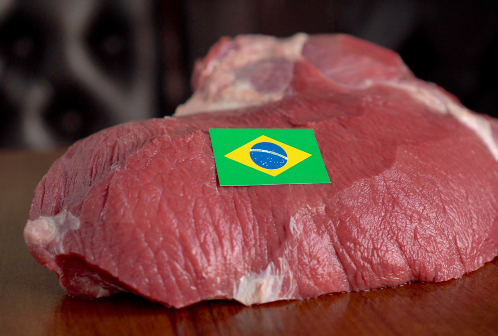 Total Brazilian beef exports in January to October 2019 were 1.5 million tonnes.