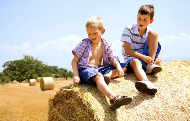 One of the big questions for family farms is how do we include our kids while prioritizing safety?