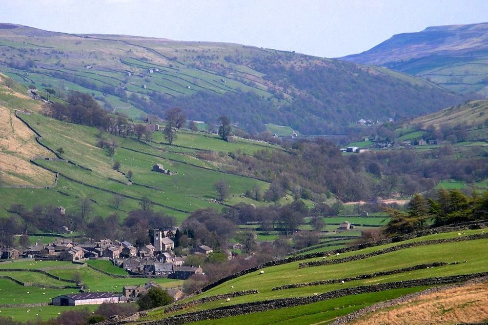 Swaledale, a dale (valley) in Yorkshire. (CIA.gov)