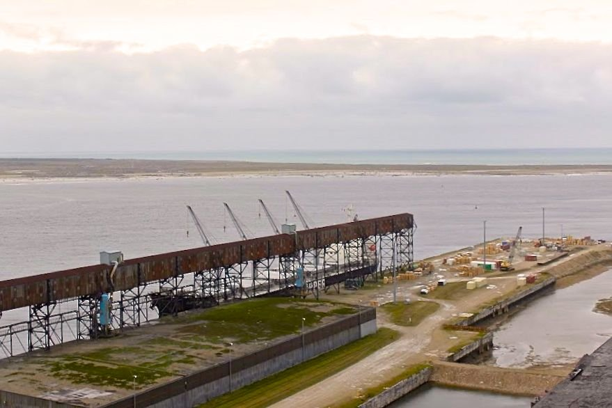 The Port of Churchill in 2015. (CNS Canada photo by Jade Markus)