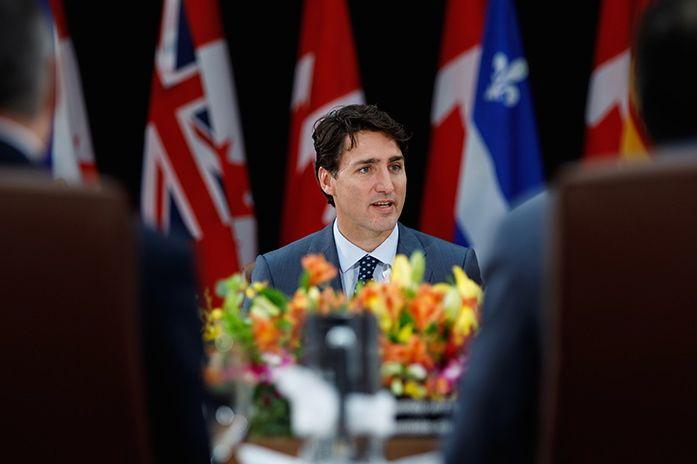 Prime Minister Justin Trudeau on Oct. 3 in Ottawa. (PM.gc.ca)