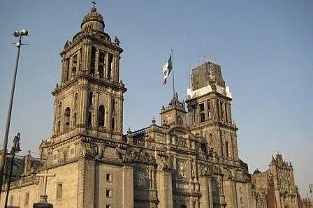 Catedral Metropolitana de la Asuncion de Maria, Mexico City. (CIA.gov)