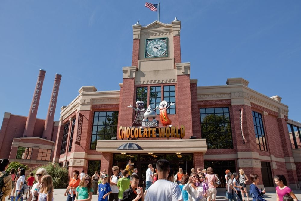 Chocolate World in Hershey, Penn. in 2011. (SDominick/iStock/Getty Images)