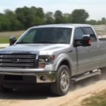 A 2013 Ford F-150. (Ford Media video screengrab via YouTube)