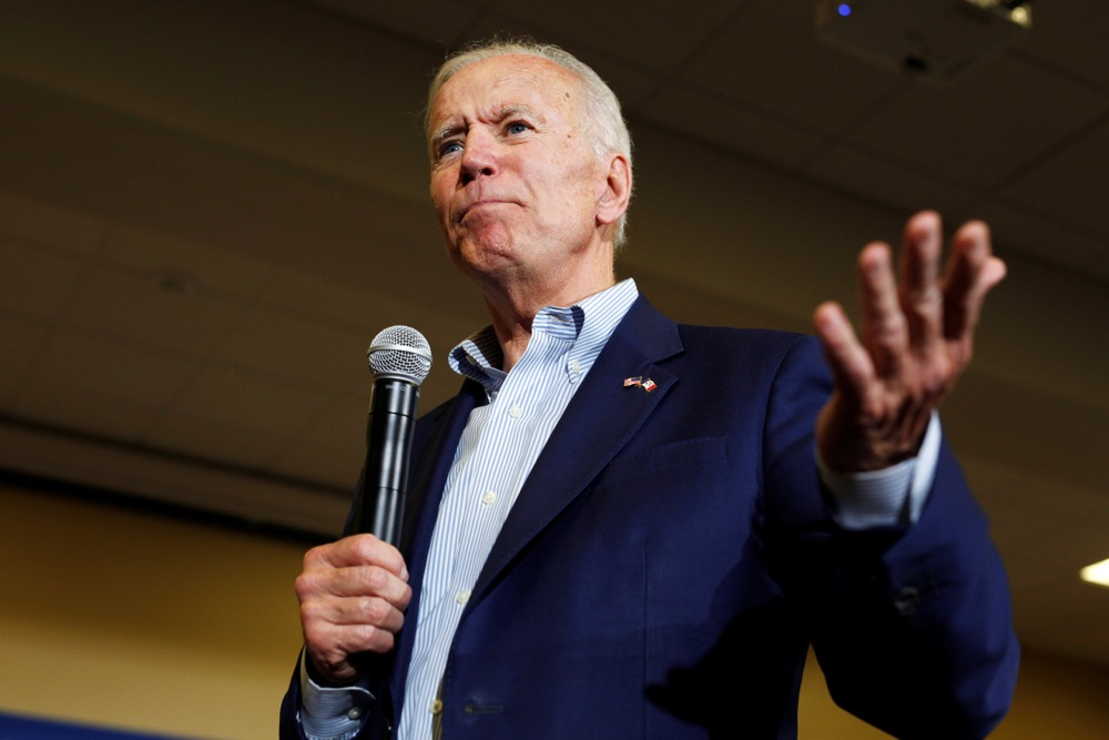 Democratic 2020 U.S. presidential candidate and former Vice-President Joe Biden speaks at an event at Iowa Wesleyan University in Mount Pleasant, Iowa on June 11, 2019. (Photo: Reuters/Jordan Gale)