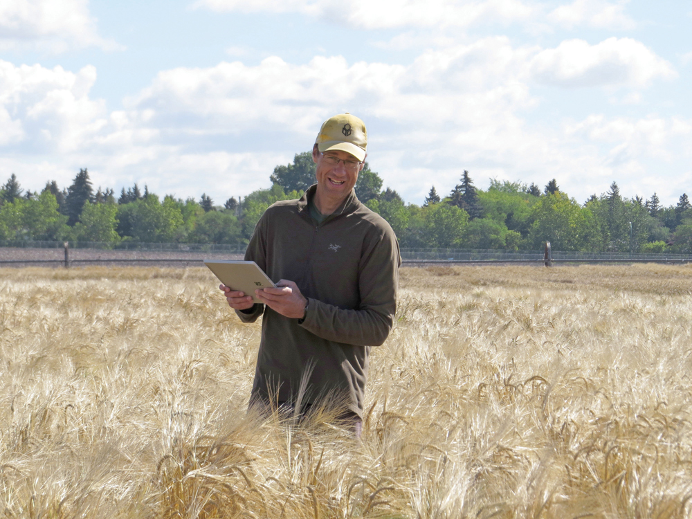 New malt varieties are being developed that nearly match the yields of feed and that will create new interest in barley, says breeder Aaron Beattie.
