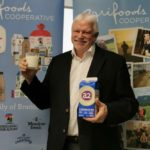 Agrifoods Cooperative chair Tim Hofstra on March 11, 2020 announced a licensing deal with New Zealand's a2 Milk Co. (CNW Group/Agrifoods Cooperative)