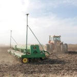 Manitoba's Agriculture Department reported seeding at about 42 per cent complete at the end of the second week of May, down from the three-year average of about 55 per cent.