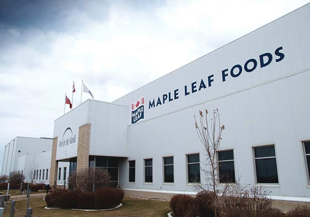 Brandon's Maple Leaf plant is the site of Canada's latest COVID outbreak in a packing facility.