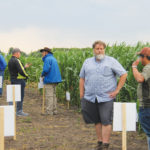 Researchers from the University of Manitoba presented '4R' research at a self-guided field tour near Carman in late July.