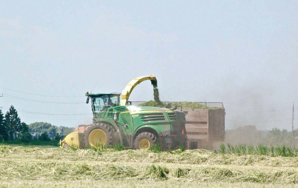 Manitoba producers who use silage can now 