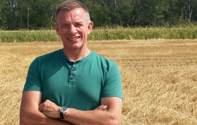 Andy Harrington is the new executive director of the Canadian Foodgrains Bank. He comes to the position with decades of international development experience.