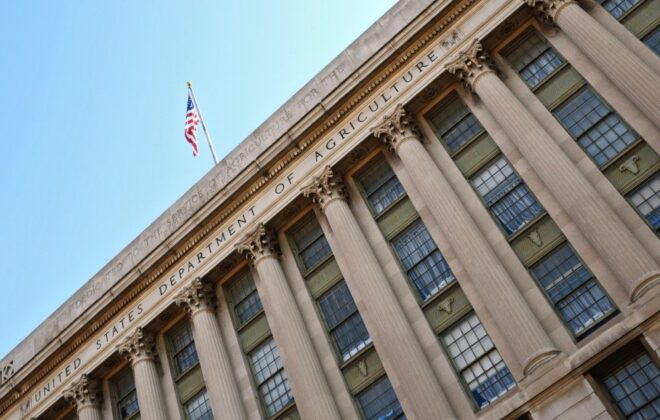 The USDA building in Washington, D.C. (Art Wager/iStock/Getty Images)