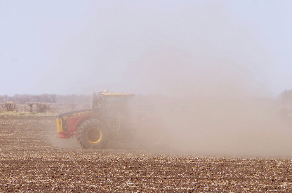 Harvest projections are trending lower due to this year's drought conditions.