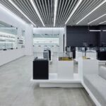 """Aurora Cannabis in November 2019 opened a flagship retail store at the West Edmonton Mall, describing the 11,000-square foot shop as """"both a retail cannabis store and an immersive experiential space."""" (CNW Group/Aurora Cannabis Inc.)"""